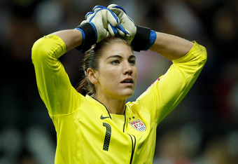 US goalkeeper Hope Solo couldn't make the saves she hoped for in penalty shootouts.