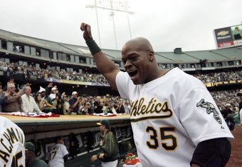 Frank Thomas represents the last true threat in the A's lineup, 5 years ago in 2006...