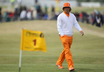 Rickie Fowler said conditions were the toughest he had seen.