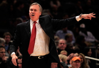 Coach Mike D'Antoni enters the last year of his four year contract.