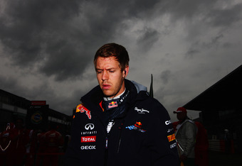 Vettel will be dissapointed with the result today