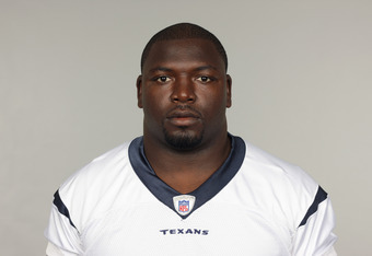 FB Vonta Leach is an integral key to the Houston Texans' rushing game.