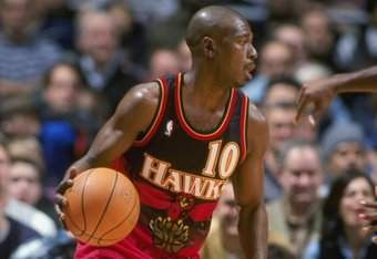 Mookie Blaylock was one of many halfway stars the Hawk's have had since Wilkins' exit
