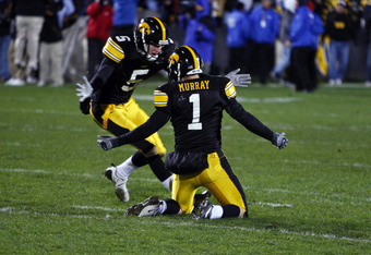 Ryan Donahue punter Iowa