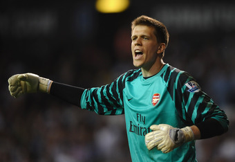 Wojciech Szczesny looks set to be Arsenal's number 1 for now and the future