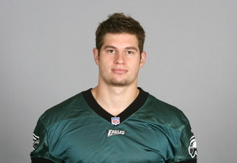 PHILADELPHIA, PA - JULY 6: In this 2010 photo provided by the NFL, Brent Celek of the Philadelphia Eagles poses for an NFL headshot on Tuesday, July 6, 2010 in Philadelphia, Pennsylvania. (Photo by NFL via Getty Images)