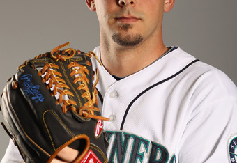 PEORIA, AZ - FEBRUARY 20:  David Pauley #39 of the Seattle Mariners poses for a portrait at the Peoria Sports Complex on February 20, 2011 in Peoria, Arizona.  (Photo by Ezra Shaw/Getty Images)