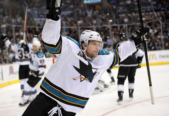 Dany Heatley was traded to the Minnesota Wild for Martin Havlat.