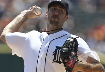 Justin Verlander gave up just 1 hit and 2 unearned runs while striking out 9 against the Angels on Sunday, improving to 15-5 with a 2.24 ERA