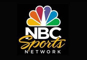 The new NBC Sports Network Logo, including a revised script and larger peacock logo (photo courtesy Yahoo).
