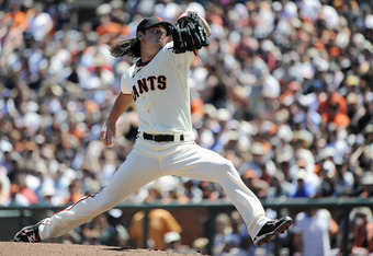 Tim Lincecum takes the hill for the Giants tonight against Arizona.