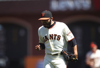 Sergio Romo isn't afraid to show his emotions on the mound