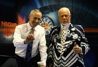 Hockey's biggest icons: Ron MacLean and Don Cherry