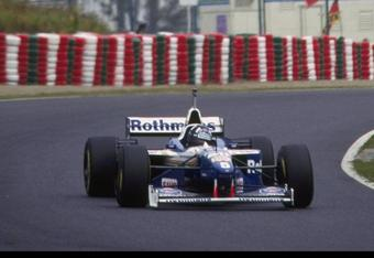 11-12 Oct 1996:  Damon Hill of the Williams Renault team during practice for the Japanese grand prix at Suzuka, Japan. Mandatory Credit: Pascal Rondeau/Allsport
