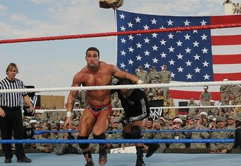 Chris Masters vs MVP at Tribute To The Troops 2009