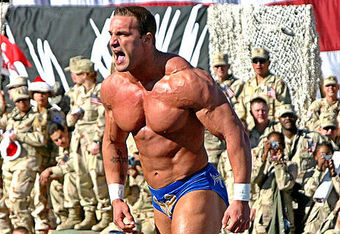 Chris Masters at Tribute To The Troops 2005.