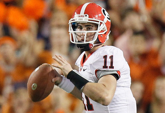 Georgia QB Aaron Murray