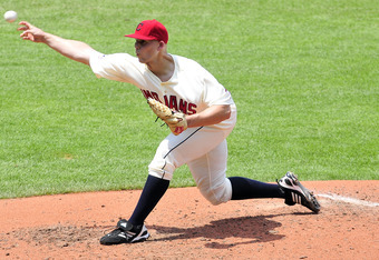 Indians pitcher Justin Masterson (9-7, 2.63 ERA, 121 strikeouts) is one of many pitchers in the running for the AL Cy Young Award.