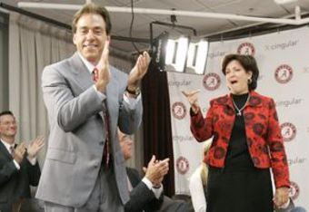 "Did you catch Saban saying that ""We"" meaning he and Terry would be eninding our coaching careers at Alabama. They are a partnership."