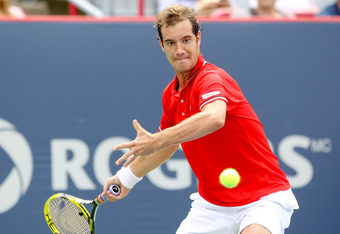 Richard Gasquet, a winner on Tuesday.