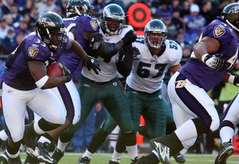 Ravens will be running from a revamped Eagles defense tonight