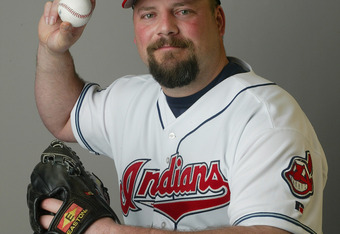 WINTER HAVEN , FL- MARCH 2:  Pitcher Bob Wickman #26 of the Cleveland Indians poses during Media Day on March 2, 2004 at Chain O Lakes Park in Winter Haven, Florida. (Photo by Rick Stewart/Getty Images)