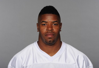 MIAMI, FL - CIRCA 2010: In this handout image provided by the NFL,  Cameron Wake of the Miami Dolphins poses for his 2010 NFL headshot circa 2010 in Miami, Florida. (Photo by NFL via Getty Images)