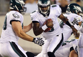 A slimmer Vince Young has plenty of time to get used to the Eagles offense behind Vick