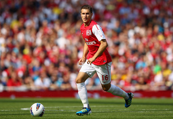 Aaron Ramsey is going to be one of the players Arsenal will want to help fill the void left by Cesc Fabregas.