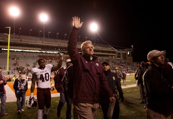 Texas A&M Football Coach Mike Sherman