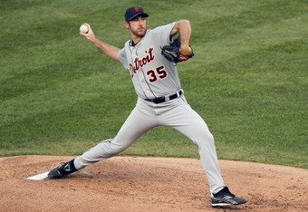 If the Tigers hang on, Justin Verlander will start in the post-season for the first time since his rookie season (2006).