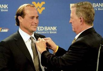 Holgorsen took over early when former WVU head coach Bill Stewart was relieved of his duties