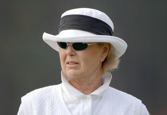 LPGA Legend Pat Bradley, Keegan Bradley's aunt.