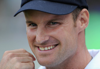 Andrew Strauss , all smiles
