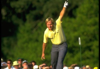 Nicklaus was ranked 33rd entering the 1986 Masters