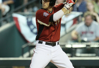 PHOENIX, AZ - JULY 10:  U.S. Futures All-Star Bryce Harper #34 of the Washington Nationals stands in during an at bat in the 2011 XM All-Star Futures Game at Chase Field on July 10, 2011 in Phoenix, Arizona.  (Photo by Jeff Gross/Getty Images)