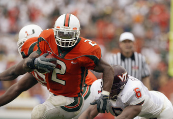 Willis McGahee is at the center of the allegations that could cripple the University of Miami's football program.