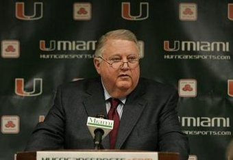 Miami previous AD Paul Dee; also NCAA COI chair in USC case and others