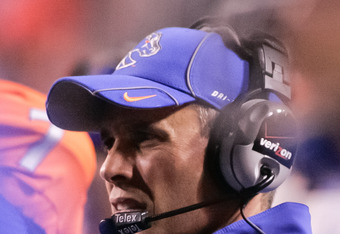Chris Petersen is 6-1 against BCS schools.