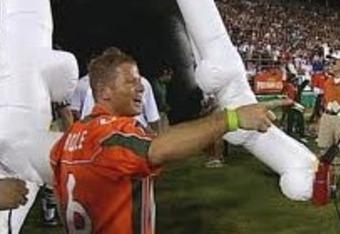 Nevin Shapiro was always around the football program at Miami