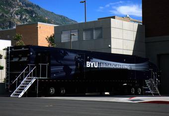 BYU Broadcasting's HD Truck