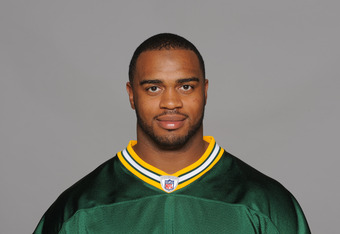 GREEN BAY, WI - CIRCA 2010: In this photo provided by the NFL, Mike Neal of the Green Bay Packers poses for his 2010 NFL headshot circa 2010 in Green Bay, Wisconsin.  (Photo by NFL via Getty Images)
