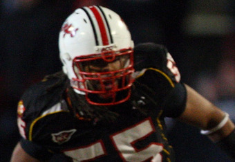 Adrian Moten playing for Maryland