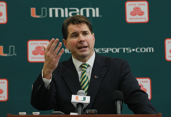 New Miami head coach Al Golden was reportedly hired by Miami without being told of the ongoing issues and investigations surrounding the Shapiro scandal. (Photo: Getty Images)