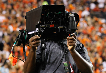 An ESPN 3D camera (Photo by Kevin C. Cox/Getty Images)