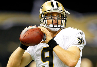 expect big things from drew brees yet again as the Saints continue to go as far as he carries them