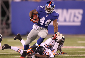 Bradshaw finally gets his chance as the true number one for the New York Giants