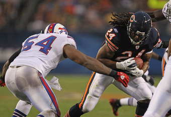 Marion Barber will get ample goal line opportunities in Chicago.