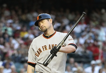 Aubrey Huff isn't getting it done, and he's been given the benefit of the doubt for five months.