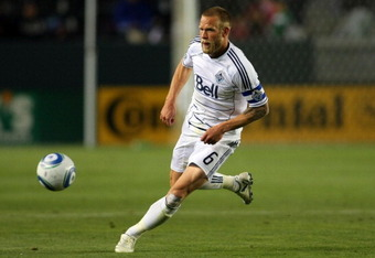Vancouver captain Jay DeMerit. (Photo by Victor Decolongon/Getty Images)